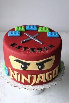 Ninjago Cake by dulcerella, via Flickr (Birthday Cake)