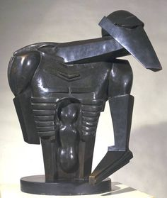 Sir Jacob Epstein, 'Torso in Metal from 'The Rock Drill'' 1913-14   # Pin++ for Pinterest #