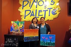 San Francisco   California   Events   The new Pinot's Palette paint and wine studio is now open in Alameda, CA at South Shore Center. See what the experience is like here.