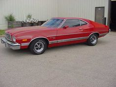 1973 Ford Gran Torino Sport, My aunt had one exactly like this - even red Ford Motor Company, Grand Torino, Mercury Cars, Ford Lincoln Mercury, Ford Torino, Roadster, Ford Classic Cars, Ford Fairlane, Mustang Cars