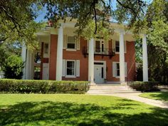 Gonzales, TX.  Some of the most magnificent historic homes in Central Texas are in this tiny little town.