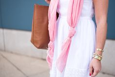Six Ways to Wear a Scarf this Spring & Summer