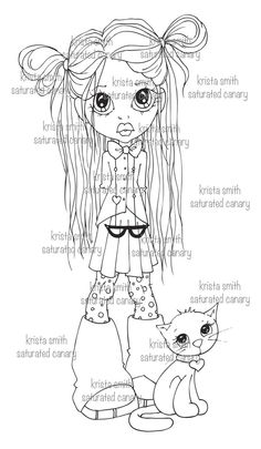 Pint Sized Love-  digi stamp- need to colour this!