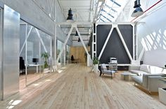 Apiary has recently moved into a new office space in Prague which was designed by Majo Architekti.