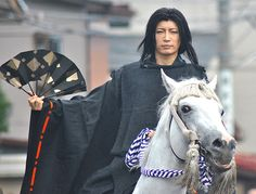 Gackt Camui as Uesugi Kenshin at a festival to celebrate the Battle of Kawanakajima, by David M Weber.