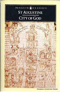 Augustine, Saint, Henry Bettenson, and John O'Meara. Concerning the City of God against the Pagans. London: Penguin, 1984. Print. $4.95 or less. Up to 50% off with additional purchases.  Paperback, corner wear.