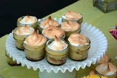 banana pudding in Mason jars by mimmy