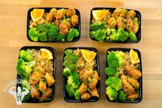 Try this Orange Chicken Meal Prep from the FitMenCook app