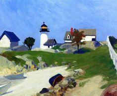Edward Hopper - Squam light