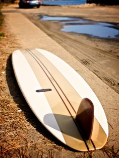 """Almond Surf Thump - 9'7"""" I really like this. Simple streamline design, it's me."""