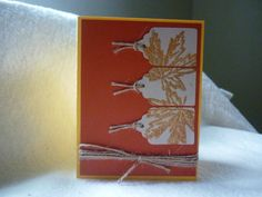 Fall is in the Air by Wrightcards on Etsy