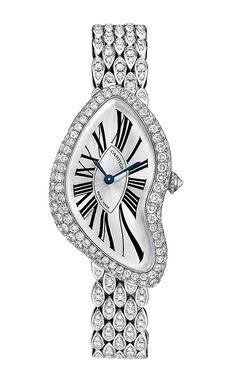 Cartier Crash Limited Edition 2013 en oro blanco de 18 quilates, engastado con 471 diamantes talla brillante por un total de 4.27ct.