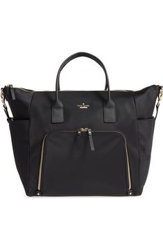 Main Image - kate spade new york classic nylon hildy baby bag