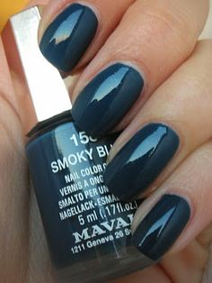 Mavala, Smoky blue 158