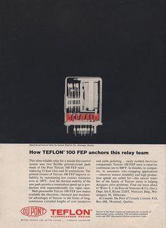 DuPont Teflon Ad  designer unknown Ad Agency: Batten, Barton, Durstine & Osborn, Inc.