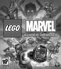 Lego Marvel Super Heroes Part 2: Key Art and Print Ads on Behance