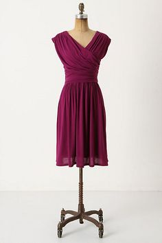 I have this dress in Navy and Lavender, but like this color too! Waiting for a sale...