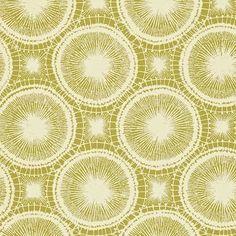 Scion Melinki Wallpaper - Tree Circles Wallpaper