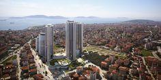 İstanbul Kartal'da yer alan İŞ GYO'nun inşaa ettiği Manzara Adalar örnek daire