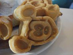 Mickey Waffle - recipe at disneyfoodblog.com.