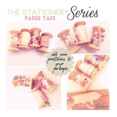 ..Twigg studios: the stationery series part 3 paper tape