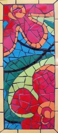 Mosaic Art Panel class at Southwest Gardener