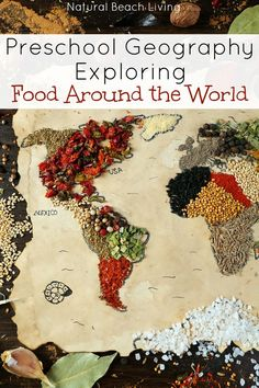 Preschool Geography and Exploring Foods Around the World, Recipe for Mini Frittata, Cooking with Kids, Little Passports, Practical life and Homeschooling. Geography Lesson Plans, Geography For Kids, Geography Activities, Teaching Geography, World Geography, Montessori Activities, Geography Classroom, Multicultural Activities, Biology Classroom