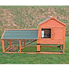 Rabbit Hutch with Attic (XL) | Overstock.com Shopping - The Best Deals on Other Pet Houses