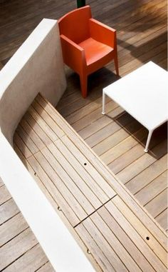 Deck - bench hideaway under bench Under Deck Storage, Bench With Storage, Built In Storage, Storage Area, Toy Storage, Deck Seating, Outdoor Seating, Outdoor Spaces, Outdoor Fire
