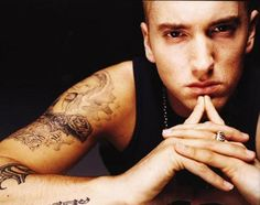 Eminem.  He's a pretty amazing person actually.  I pretty much own all of his music.