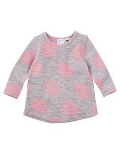 Teeny Weeny Merino Wool Long Sleeve Spot Top product photo
