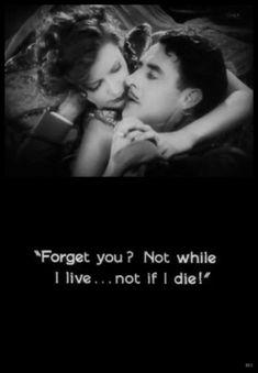 Greta Garbo and John Gilbert  Flesh And The Devil - (1926)