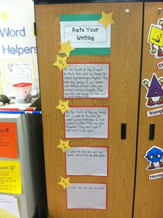 Krazy About Kiddos: Rating Writing and Wanted Posters in Math
