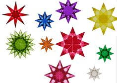 Christmas craft templates - Christmas craft templates My Svenja - Origami Butterfly, Origami Stars, Origami Flowers, Origami Easy, Origami Paper, Paper Snowflakes, Paper Stars, Christmas Crafts, Christmas Decorations