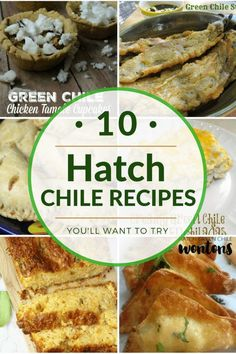 It's Hatch Chile season! Here are 10 Hatch Green Chile Recipes to help you put those beautiful, yummy chiles to use! New Mexico Green Chili Recipe, Hatch Green Chili Recipe, Green Chili Recipes, Hatch Chili, Chilli Recipes, Mexican Food Recipes, Pepper Recipes, Mexican Dishes, Mexican Meals