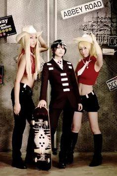 Liz & Death the Kid & Patty   Soul Eater #cosplay #anime #manga
