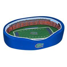 Florida Gators Pet Bed - Ben Hill Griffin Stadium Replica - Medium