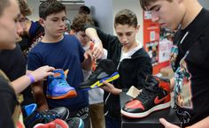 """Bartering and selling at conventions and online, the thousands of mostly teenage """"sneakerheads"""" have perfected the art of trading up. Older story, but teacher requested a sneaker style story in the survey. This might be a good angle if it still exists."""