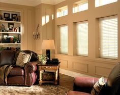 Window shadings are equal parts practical and stylish