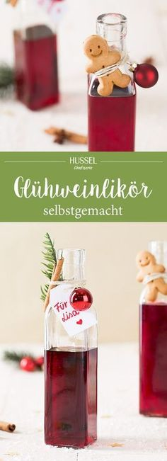 Mulled wine liqueur - Hussel Confiserie The classic Christmas .- Glühweinlikör – Hussel Confiserie Der Klassiker zu Weihnachten vere… Mulled wine liqueur – Hussel confectionery The… - Christmas Drinks, Christmas Time, Christmas Gifts, Christmas Recipes, Tumblr P, Table Cadeau, Liqueur, Diy Presents, Mulled Wine