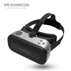 449efaf710ea VR SHINECON New ALL IN ONE 3D VR Glasses Helmet PRO Virtual Reality OTG  Glasses 5.5 inch 1080P 3D BOX For VR Games Videos Films