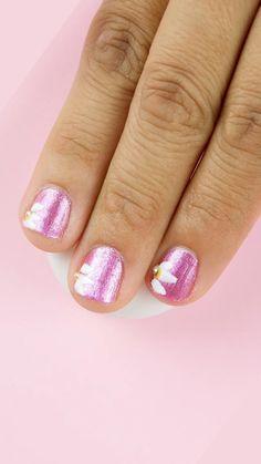Pin on Para Alicia Nail Art Designs Videos, Pink Nail Designs, Cute Summer Nail Designs, Nail Polish Designs, Nails Design, Funky Nails, Trendy Nails, Bright Summer Acrylic Nails, Summer Nails
