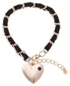 Bijou Brigitte Heart bracelet