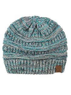 af4219136d7 C Trendy Warm Chunky Soft Stretch Cable Knit Beanie Skully