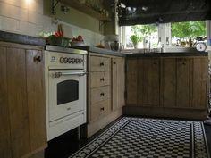 Steigerhouten keuken, stoer en landelijk