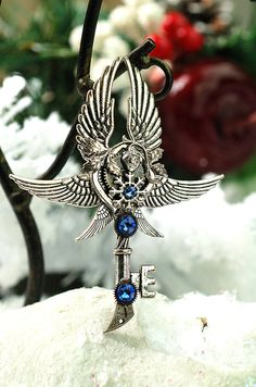 Hey, I found this really awesome Etsy listing at https://www.etsy.com/listing/212328480/winter-wonderland-key-necklace