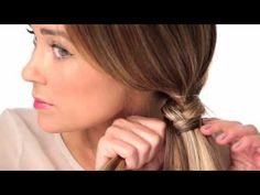 Cute fishtail braid! Who knew this was so easy?