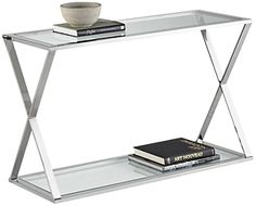 www.55downingstreet.com/products/1091/3R015.aspx I want you to see Gotham Steel and Glass Console Table at 55 Downing Street. This design is only available for a limited time, so visit now.