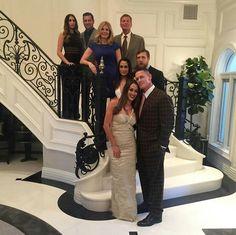 JJ & Lola Garcia, John & Kathy Laturentis Bryan & Brianna Danielson with John Cena & Nicole Garcia Colace