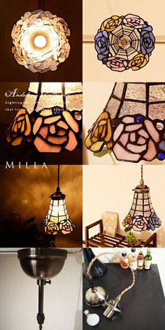 Pendant Lamps, Glass Pendants, Stained Glass, Ceiling Lights, Design, Home Decor, Manualidades, Light Fixture, Ceiling Light Fixtures